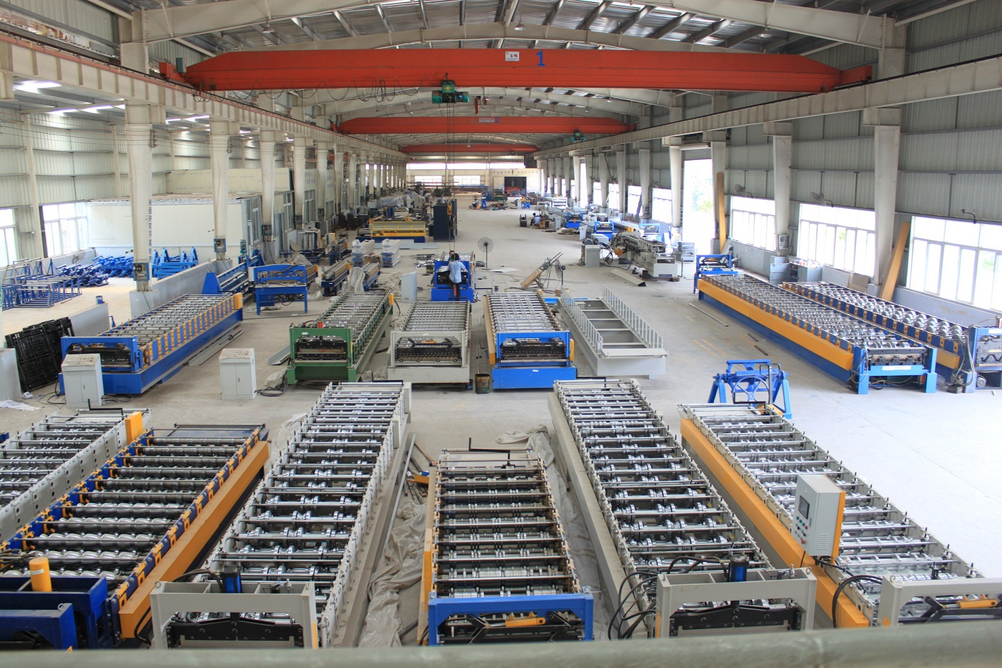 Roll Forming Mill Workshop