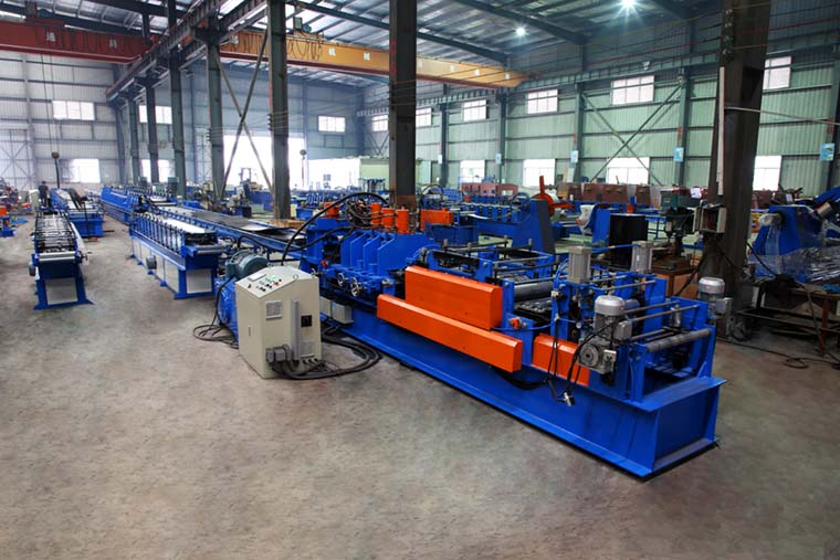 5mm Thickness Automatic C Purlin Roll Forming Machine