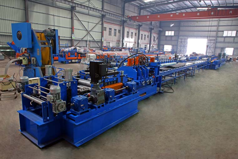 Heavy Duty Automatic C Purlin Roll Forming Machine