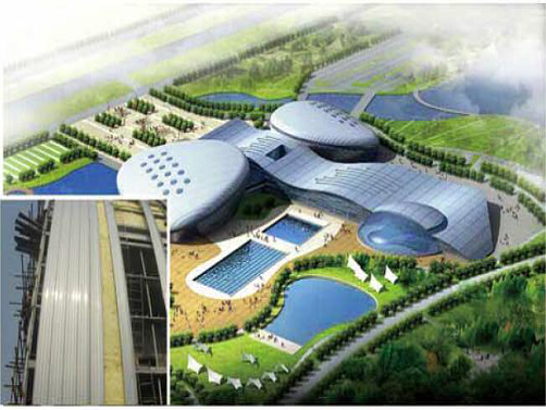 latest company news about Standing Seam Roof Panel Machine Project  0