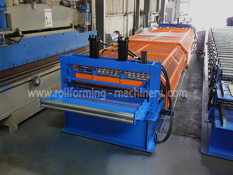 Corrugated Panel Roll Forming Machine For USA