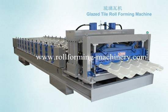 Glazed Tile Roll Forming Machine for YX38-210-840