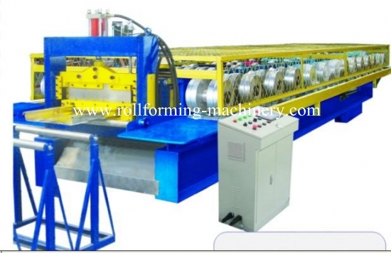 Standing Seaming Roof Panel Roll Forming Machine for YX65-400
