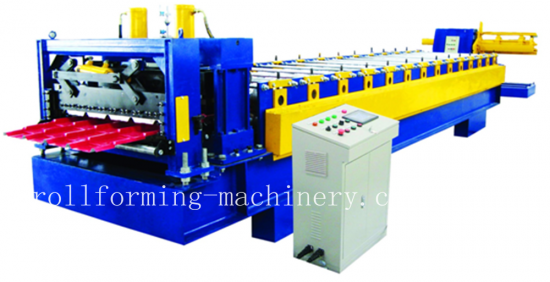 Glazed Tile Roll Forming Machine for YX26-207-830