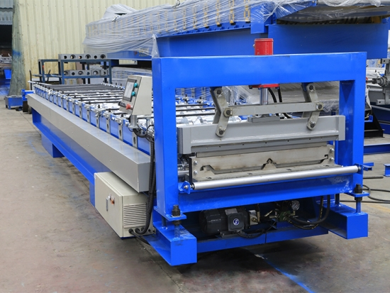 Roof Panel Roll Forming Machine For YX28-820