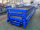 Double Layer Roof Panel Roll Forming Machine for YX845&900 profile