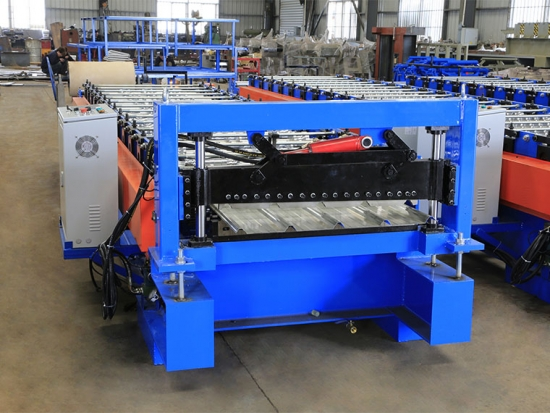 Roof Panel Roll Forming Machine For YX25-211-844 Profile