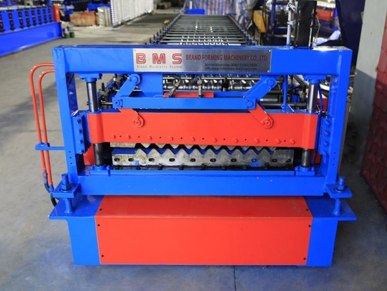 Corrugated Sheet Roll Forming Machine YX18-76.2-762