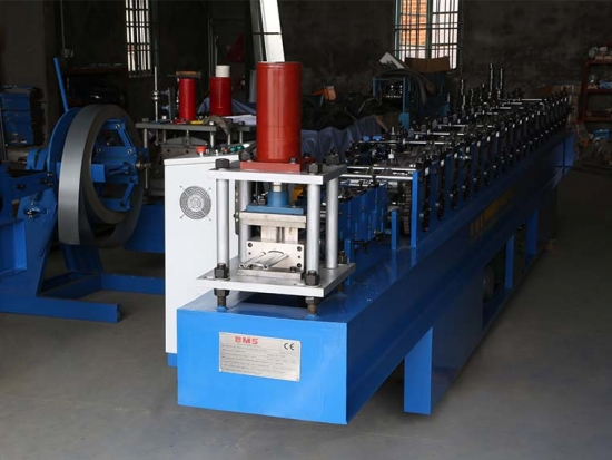 Roller Shutter Door Roll Forming Machine For SD11-80C Profile