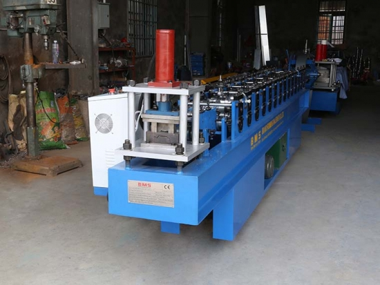 Roller Shutter Door Roll Forming Machine For SD11-80 Profile