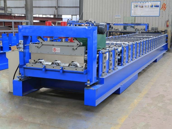 Floor Deck Roll Forming Machine for YX50-1005 Profile