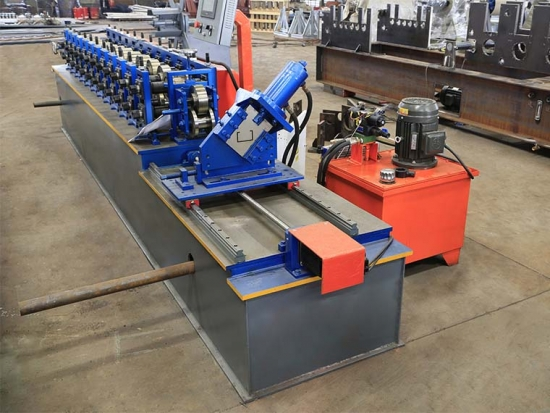 High Speed C Purlin Machine