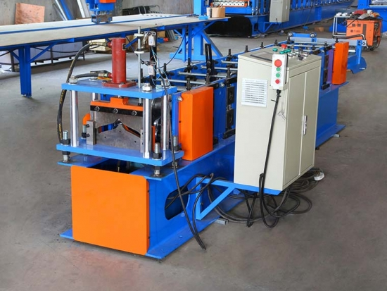 Professional Ridge Cap Roll Forming Machine