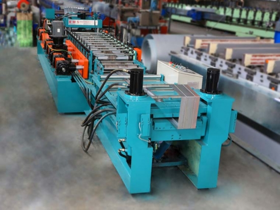 Highly Accurate Automatic Fire Damper Frame Roll Forming Machine