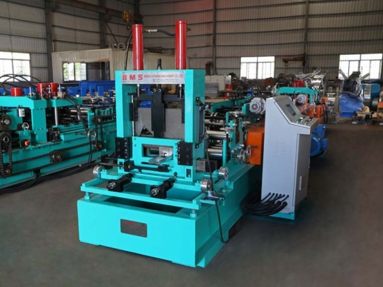 High Efficiency Taiwan Style C Purlin Roll Forming Machine