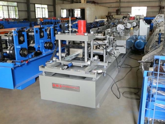 CU Purlin Roll Forming Machine For Solar Industry