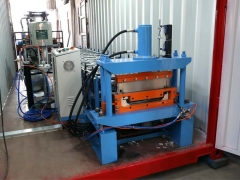 Boltless Roof Panel Roll Forming Machine For YX66-470