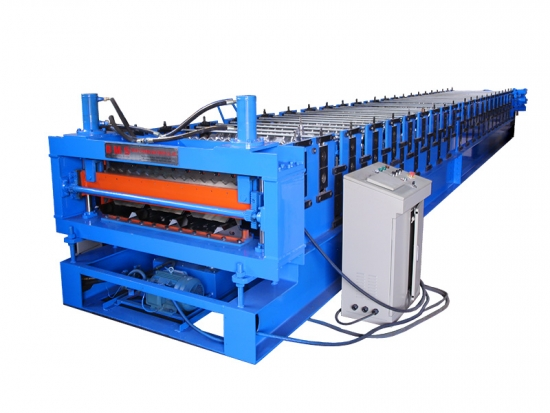 Hot Sales Double Layer Roof Panel Roll Forming Machine