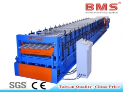 Double Layer Roofing Sheets Roll Forming Machine