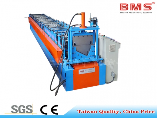 Half Rould Gutter Roll Forming Machine