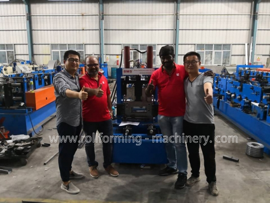 CZ Purlin Roll Forming Machine