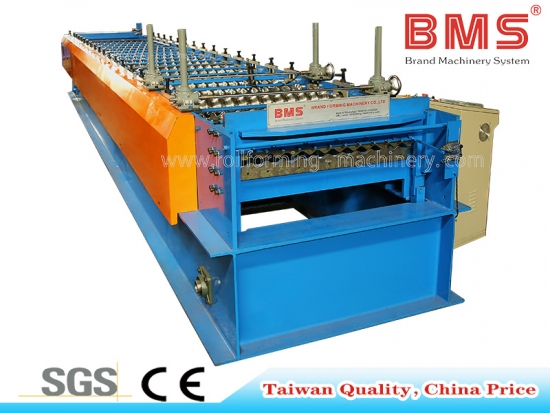 Corrugated Panel Roll Forming Machine For YX18-76.2-762(Taiwan Type)