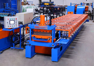 Standing Seam Roof Panel Roll Forming Machine (With tape)