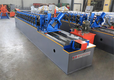 High Speed C Purlin Roll Forming Machine will be Shipped to Philippines
