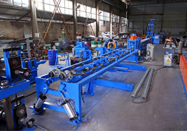W Beam Crash Barrier Roll Forming Machine(Korea NEW style)