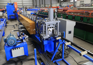 Steel Angle Bar Roll Forming Machine
